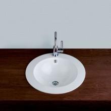 Круглая раковина для ванной